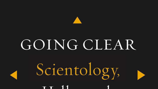 """This book cover image released by Alfred A. Knopf shows """"Going Clear: Scientology, Hollywood & the Prison of Belief,"""" by Lawrence Wright. (AP Photo/Alfred A. Knopf)"""