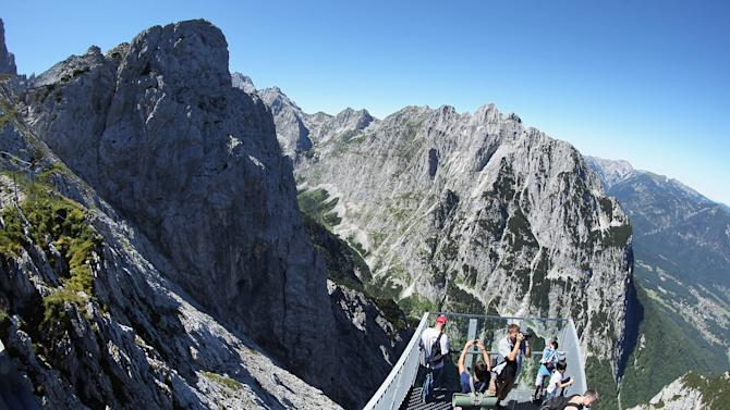 German Alps Draw Summer Tourists