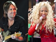 Keith Urban, Nicki Minaj -- Getty Images
