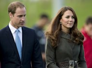 Prince William The Duke of Cambridge and his wife Catherine the Duchess of Cambridge in Burton Upon Trent on October 9, 2012. They will spend Christmas Day at her parents' family house, instead of with Queen Elizabeth II