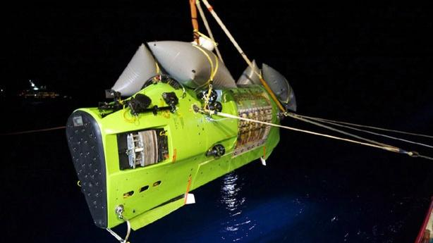 James Cameron Completes Journey to the Bottom of the Ocean