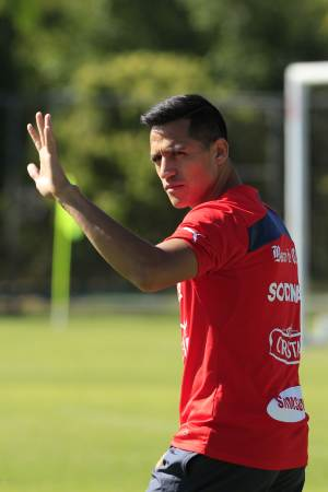 Sanchez carrying Chile's hopes at World Cup