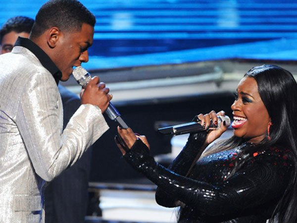 Joshua Ledet & Fantasia [photo: Fox]