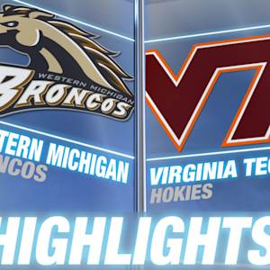 Western Michigan vs Virginia Tech | 2014 ACC Football Highlights