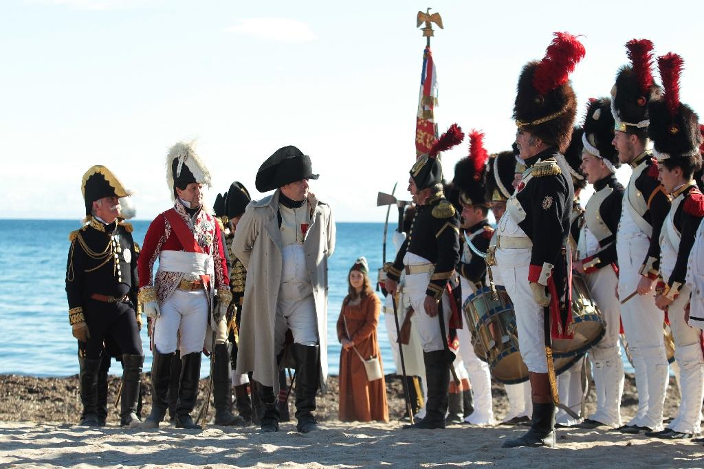 200 years on, Napoleon returns to southern France