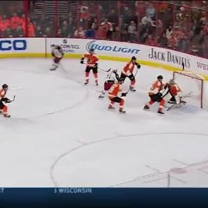 Steve Mason Save on Nick Foligno (13:53/1st)