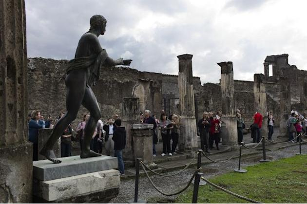 Work begins on Pompeii's 105 million euro makeover