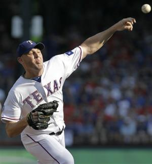 Harrison gets 10th win, Rangers beat Rockies 4-2