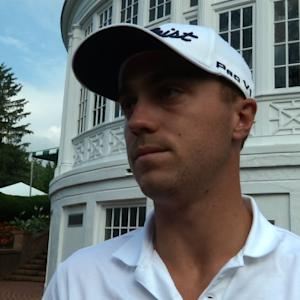 Justin Thomas interview after Round 1 of The Greenbrier