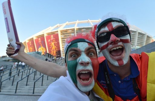 Fans arrive for the last Euro&nbsp;&hellip;