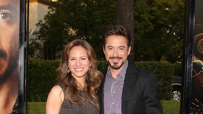 The Soloist LA Premiere 2009 Robert Downey Jr. Susan Downey
