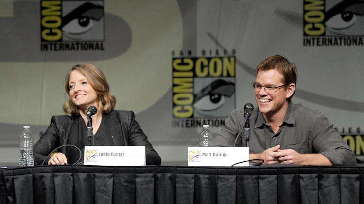"Sony Preview - ""Total Recall,"" ""Looper"" And ""Eylsium"" - Comic-Con International 2012"