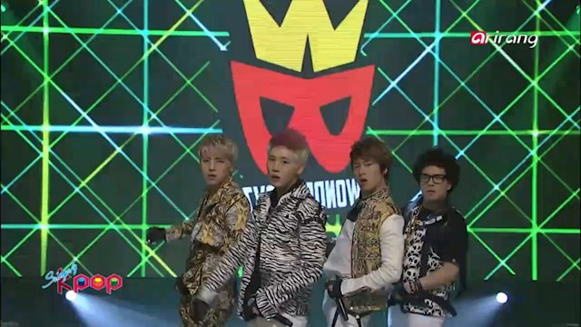 Simply K-Pop : ♬ Wonder Boyz - TARZAN