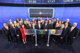 Customers Bancorp marks milestone with The NASDAQ Stock Market Opening Bell Ceremony