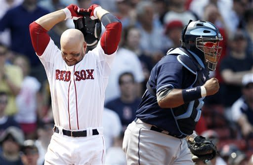 Shields goes 8 1-3 innings, Rays top Red Sox 1-0