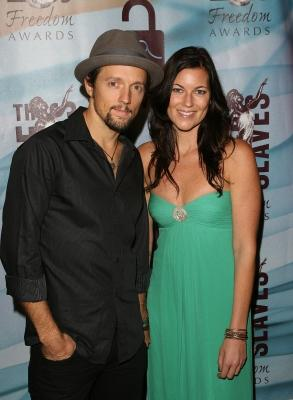 Jason Mraz & Tristan Prettyman attend the 2010 Freedom Awards at the Redondo Beach Peforming Arts Center on Nov. 7, 2010 in Redondo Beach, Calif.  -- Getty Images