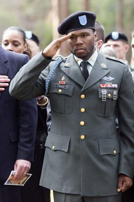 50 Cent in MGM's Home of the Brave