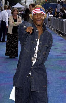 Sisqo at the Hollywood premiere of Monsters, Inc.