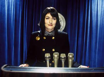 Anna Chancellor as Questular in Touchstone Pictures' The Hitchhiker's Guide to the Galaxy
