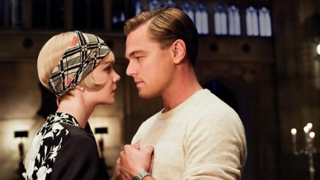 Leonardo DiCapriowith Carey Mulliganin a scene fromThe Great Gatsby.