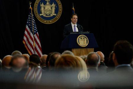 New York governor wants to spend more on education, lower taxes