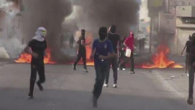 Protests in Bahrain ahead of F1 Grand Prix [AMBIENT]