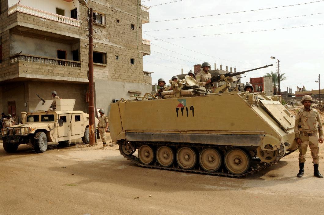 New Sinai clashes kill two children: Egypt officials
