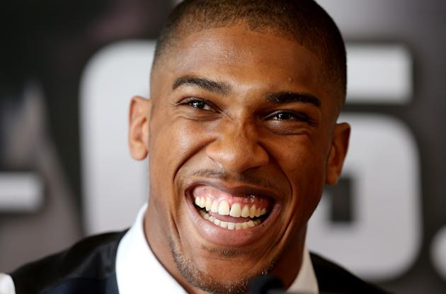 Anthony Joshua Press Conference