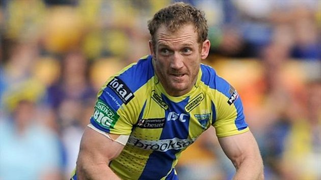Michael Monaghan scored one of Warrington's four first-half tries