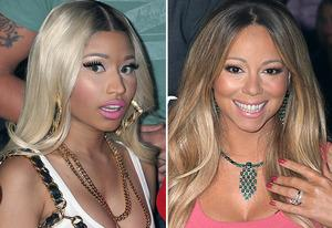 Nikki Minaj, Mariah Carey | Photo Credits: Fox/Getty