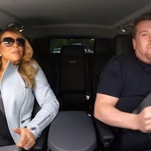 Mariah Carey Does Carpool Karaoke with James Corden