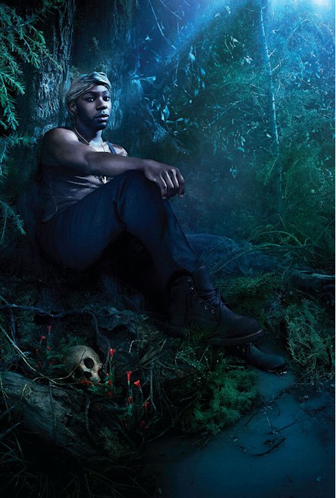 "Nelsan Ellis stars as Layfayette Reynolds in ""True Blood."""