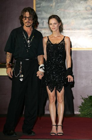 Johnny Depp y Vanessa Paradis/ WireImage