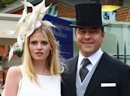 PHOTO: David Walliams And Lara Stone At Royal Ascot 2012