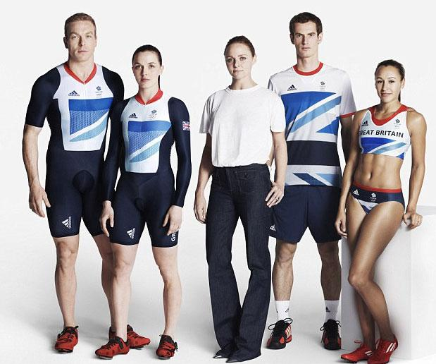 Great Britain Olympic Uniform 2012 © Getty