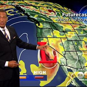 Kaj Goldberg's Weather Forecast (Sept. 17)