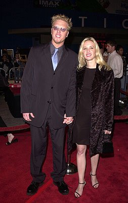 Premiere: Jake Busey and galpal at the LA premiere for Columbia's Tomcats - 3/28/2001 Photo by Pierre Leloup/Wireimage.com