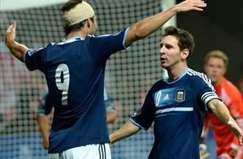 Germany 1-3 Argentina: Messi on target as 10-man hosts collapse