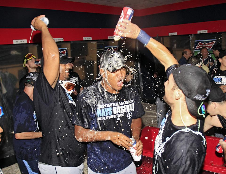 Road Rays beat Indians 4-0 in wild-card game