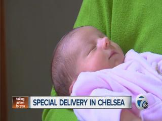 Special delivery in Chelsea