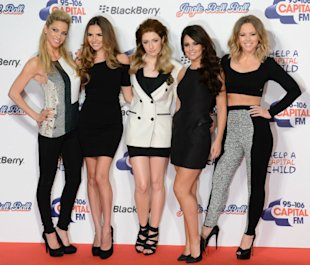 Cheryl Cole Leads The Girls Aloud Style Stakes In Sexy Little Black Dress At Jingle Bell Ball