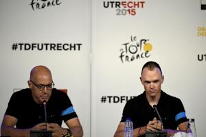 Team Sky 's British cyclist Christopher Froome…