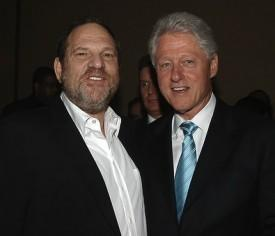 Harvey Weinstein Guest Hosting CNN's 'Piers Morgan' With Bill Clinton