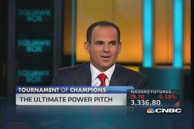Six startups face the ultimate power pitch