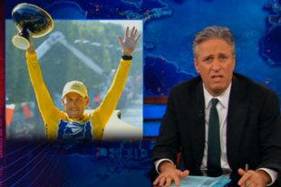 Late-night writers mock Armstrong