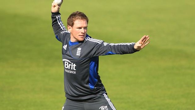 Eoin Morgan, pictured, expects Ross Taylor to pose a big threat
