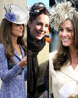 kate middleton fascinators