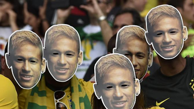 Brazil brings out Neymar's number for semifinals