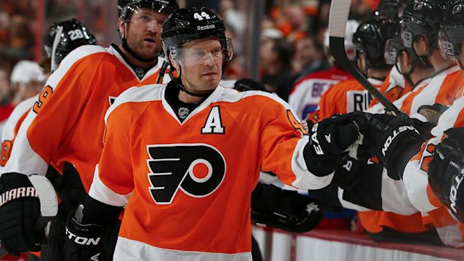 On the 'D'-fence: Timonen producing at typical pace