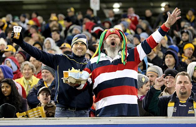 Rugby Union - 2013 British and Irish Lions Tour - ACT Brumbies v British & Irish Lions - Canberra Stadium